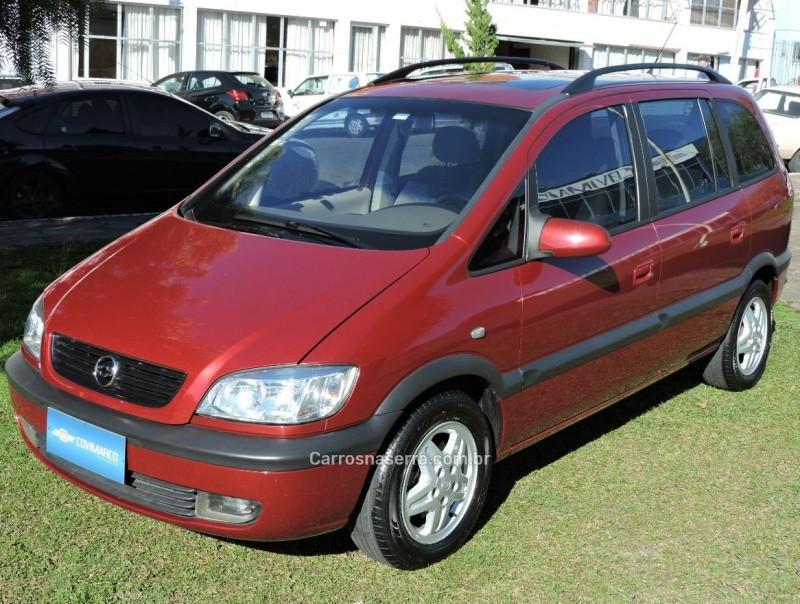 zafira 2.0 mpfi cd 16v gasolina 4p manual 2001 sao marcos