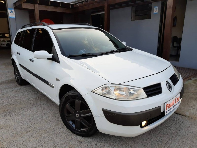 megane 1.6 expression grand tour 16v flex 4p manual 2009 caxias do sul