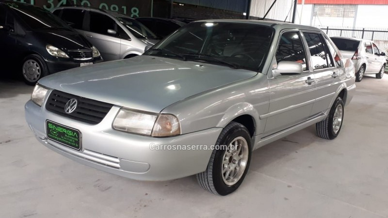 santana 1.8 mi comfortline 8v gasolina 4p manual 2002 caxias do sul