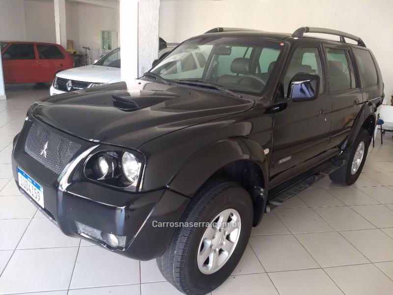 pajero sport 3.0 hpe 4x4 v6 24v gasolina 4p automatico 2007 caxias do sul