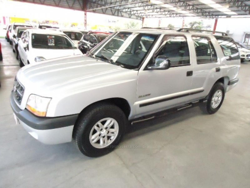 blazer 2.4 mpfi st 4x2 8v gasolina 4p manual 2001 caxias do sul