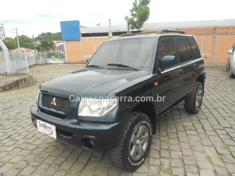 pajero tr4 2.0 4x4 16v 131cv gasolina 4p automatico 2004 sao marcos
