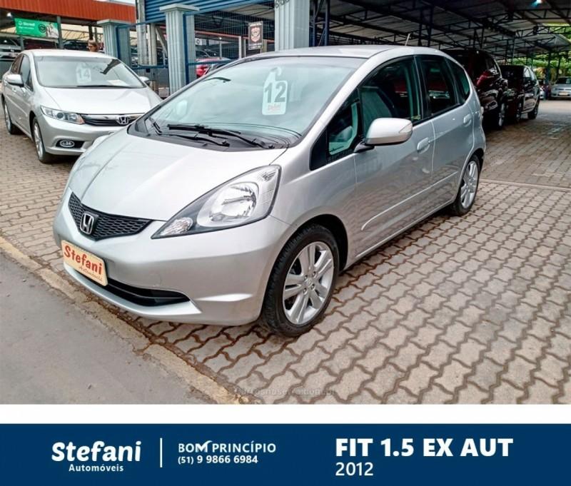 fit 1.5 ex 16v flex 4p automatico 2012 bom principio