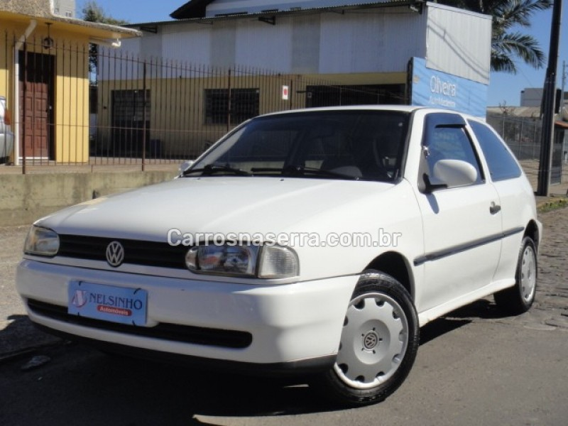 gol 1.6 cli 8v gasolina 2p manual 1996 caxias do sul
