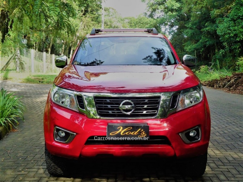 frontier 2.5 se 4x4 cd turbo eletronic diesel 4p automatico 2018 canela