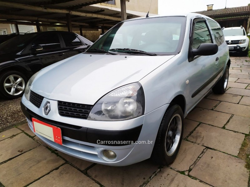 clio 1.0 authentique 8v gasolina 2p manual 2004 bento goncalves