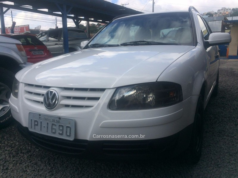 parati 1.6 mi 8v flex 4p manual g.iv 2009 caxias do sul