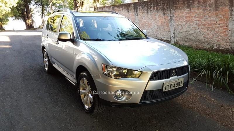 outlander 2.0 16v gasolina 4p automatico 2013 passo fundo