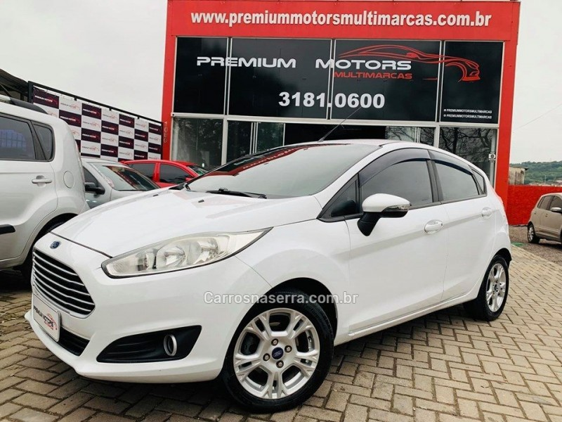 fiesta 1.6 se hatch 16v flex 4p manual 2014 estancia velha