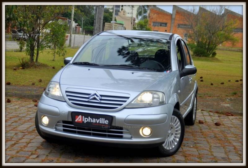 c3 1.6 i exclusive 16v gasolina 4p manual 2004 caxias do sul