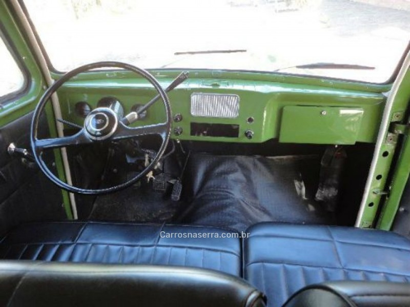 RURAL 2.6 4X2 6 CILINDROS 12V GASOLINA 2P MANUAL - 1973 - GUAPORé