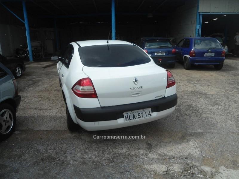 megane 2.0 dynamique sedan 16v gasolina 4p automatico 2011 caxias do sul