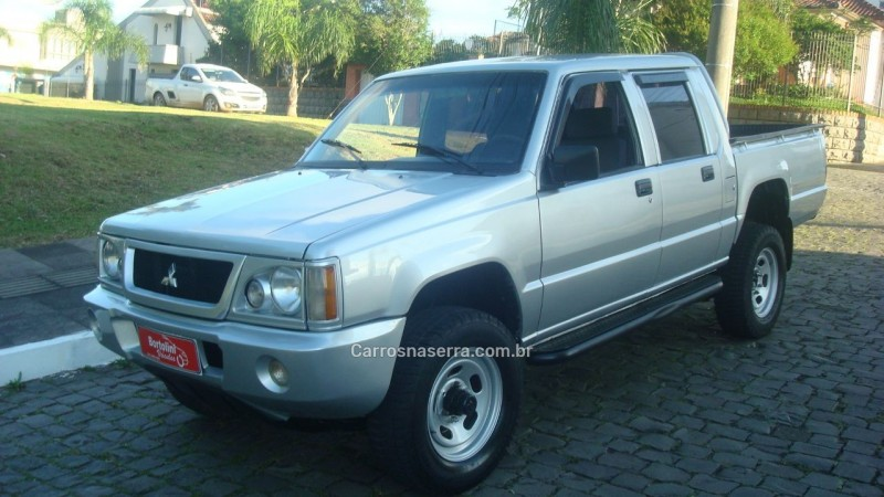 l200 2.5 gl 4x4 cd 8v turbo diesel 4p manual 2002 farroupilha
