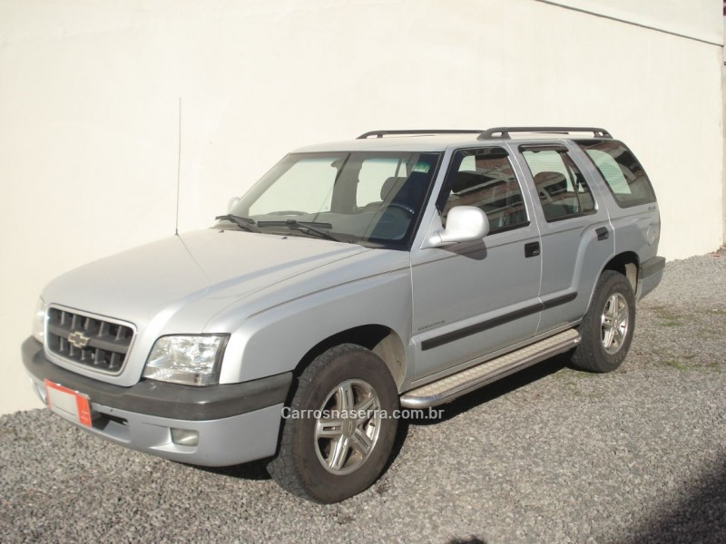 blazer 2.8 executive 4x4 12v turbo intercooler diesel 4p manual 2005 caxias do sul