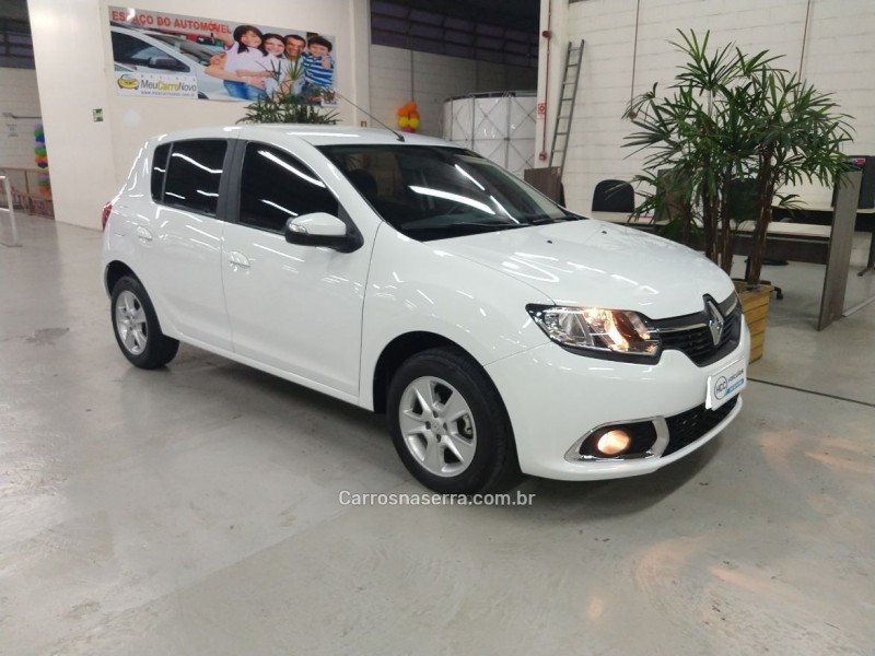 sandero 1.6 dynamique 8v flex 4p manual 2016 caxias do sul