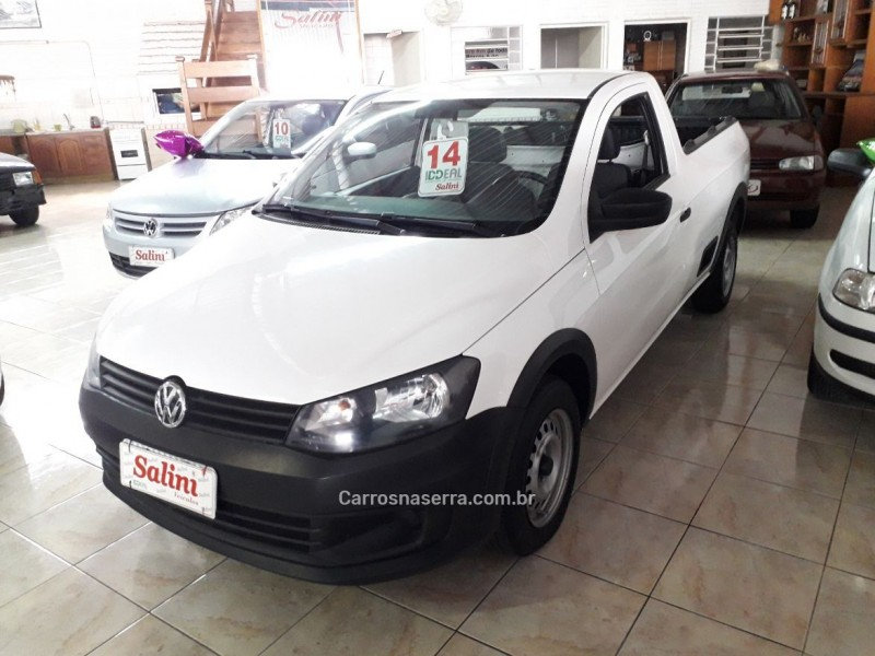 saveiro 1.6 mi city cs 8v flex 2p manual g.iv 2014 bento goncalves