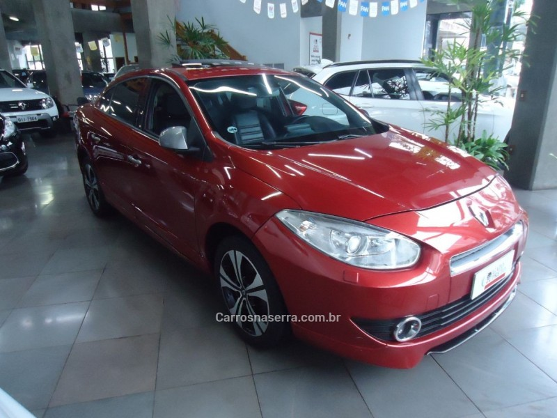 fluence 2.0 gt 16v turbo gasolina 4p manual 2013 caxias do sul