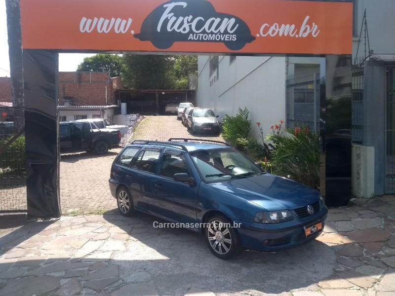 parati 1.0 mi 16v gasolina 4p manual g.iii 2000 caxias do sul