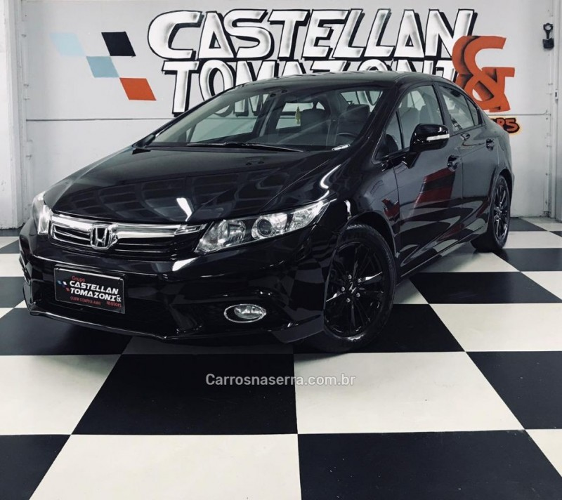 civic 2.0 lxr 16v flex 4p automatico 2014 caxias do sul