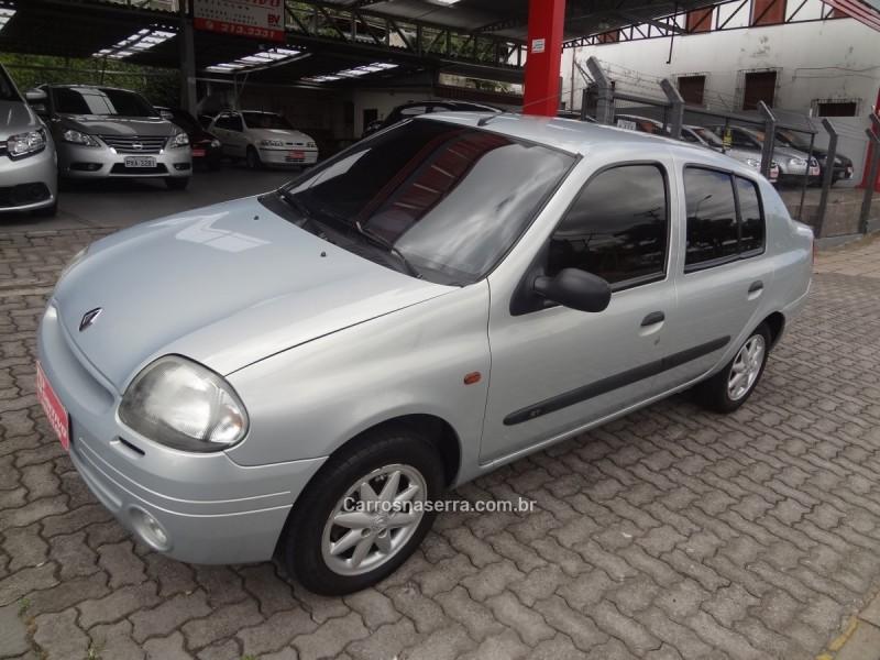 clio 1.6 rt 16v gasolina 4p manual 2002 caxias do sul