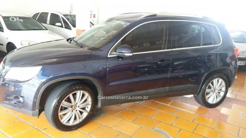 tiguan 2.0 fsi 16v turbo gasolina 4p tiptronic 2011 caxias do sul