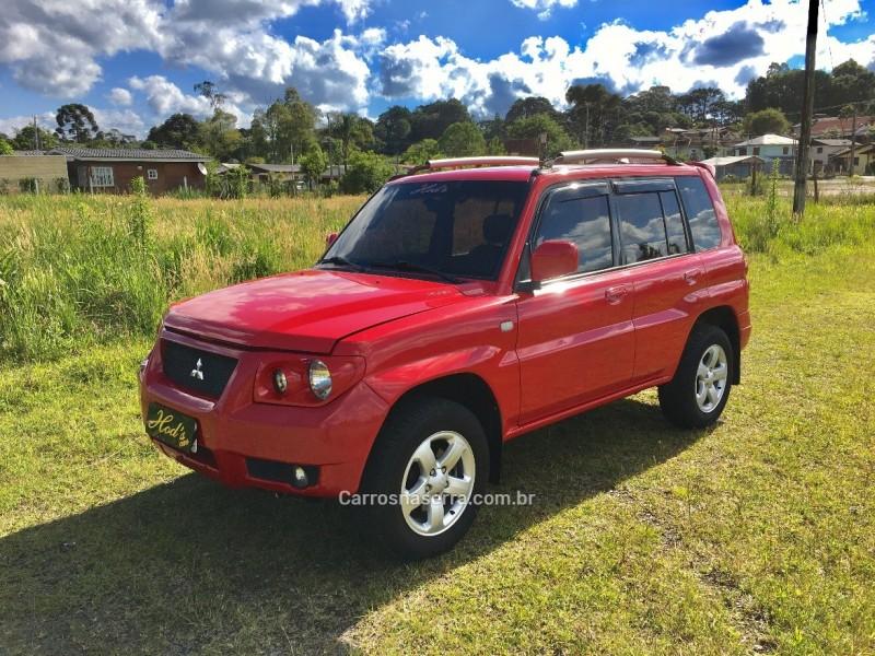 pajero tr4 2.0 4x4 16v 131cv gasolina 4p automatico 2009 canela