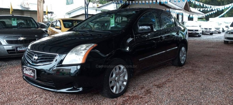 sentra 2.0 16v flex 4p manual 2011 canela