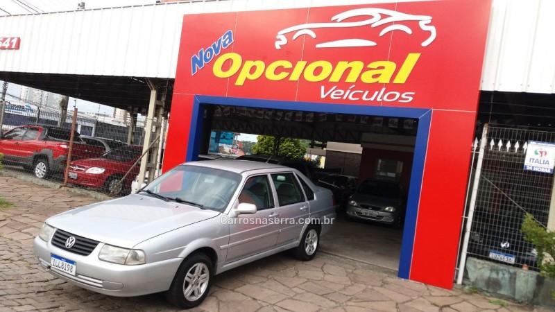 santana 1.8 mi 8v gasolina 4p manual 2003 caxias do sul