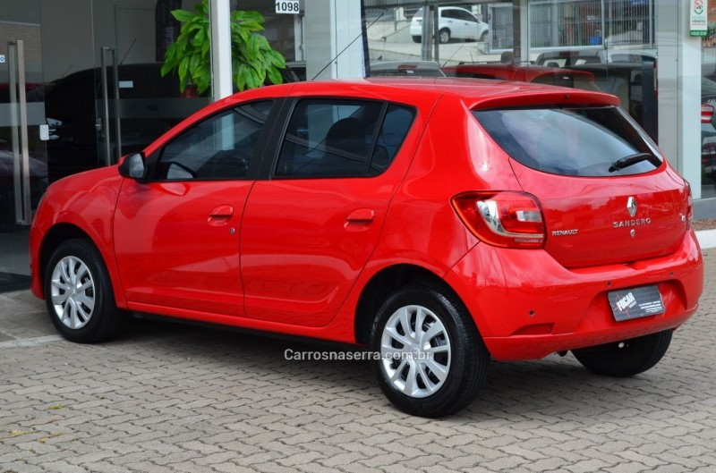 SANDERO 1.6 EXPRESSION 8V FLEX 4P MANUAL - 2015 - CAXIAS DO SUL