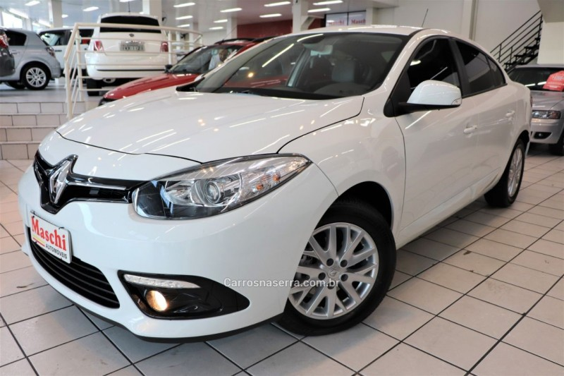 fluence 2.0 dynamique 16v flex 4p automatico 2018 caxias do sul