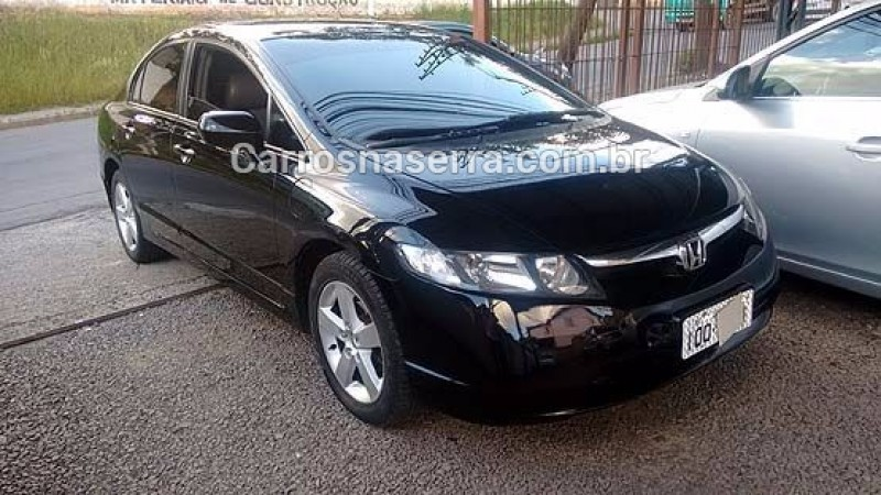 civic 1.8 lxs 16v flex 4p manual 2008 caxias do sul