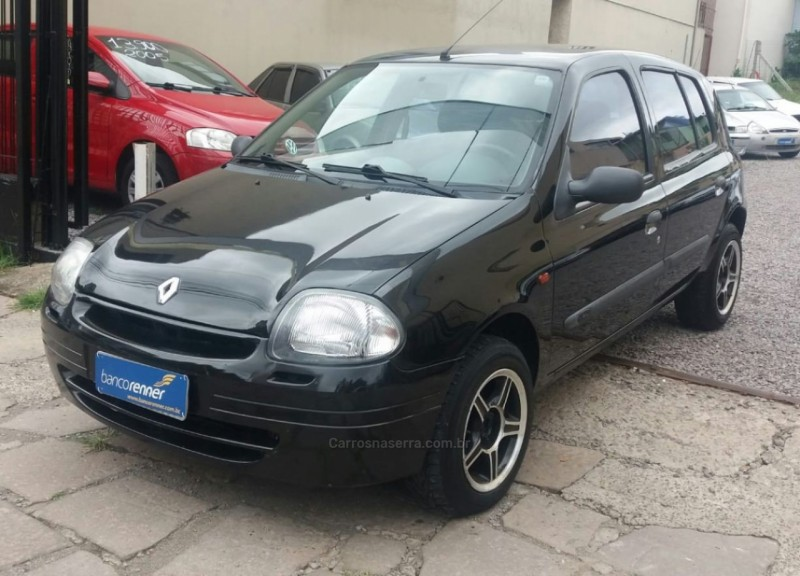 clio 1.0 rn 16v gasolina 4p manual 2001 caxias do sul