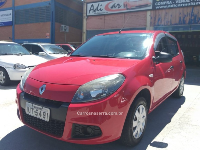sandero 1.0 authentique 16v flex 4p manual 2014 caxias do sul
