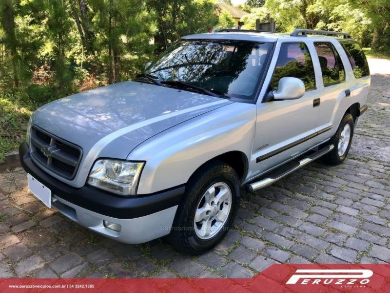 blazer 2.4 mpfi advantage 4x2 gasolina 4p manual 2008 nova prata