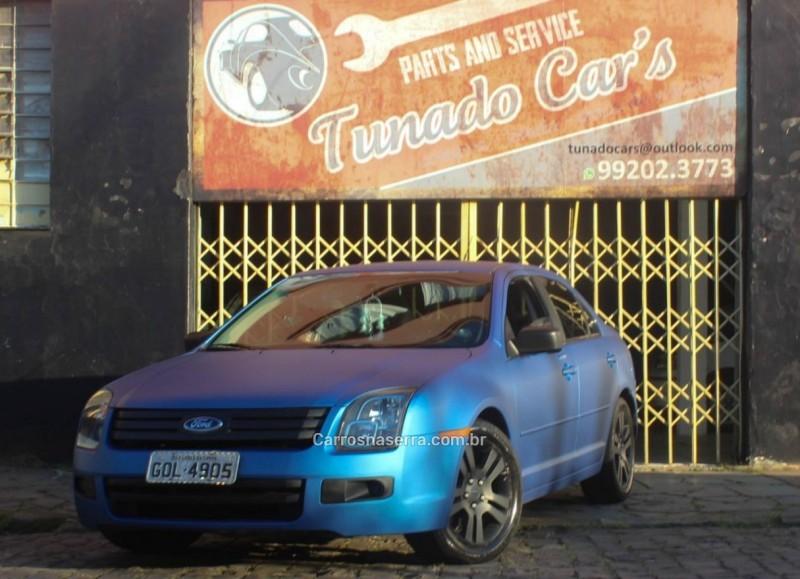 fusion 2.3 sel 16v gasolina 4p automatico 2008 caxias do sul