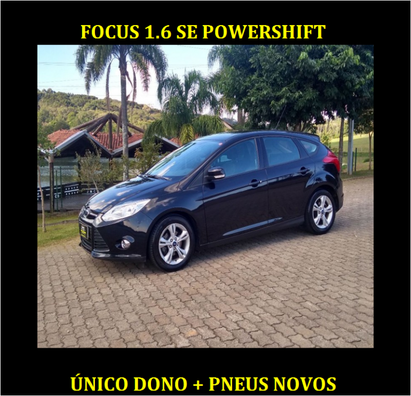 focus 1.6 se 16v flex 4p powershift 2014 caxias do sul