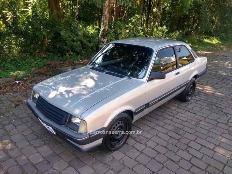 chevette 1.6 dl 8v gasolina 2p manual 1992 nova prata
