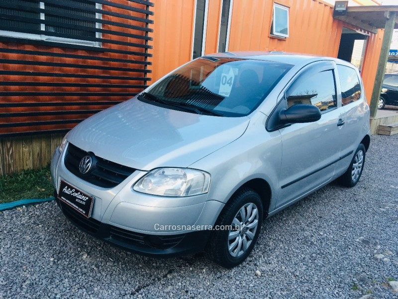 fox 1.0 mi plus 8v flex 2p manual 2004 caxias do sul