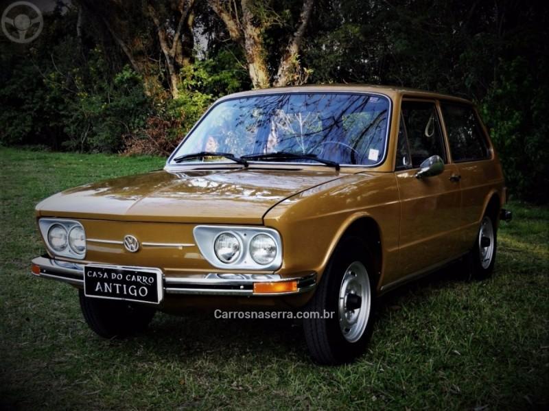 BRASILIA 1.6 8V GASOLINA 2P MANUAL - 1976 - NOVA PETRóPOLIS
