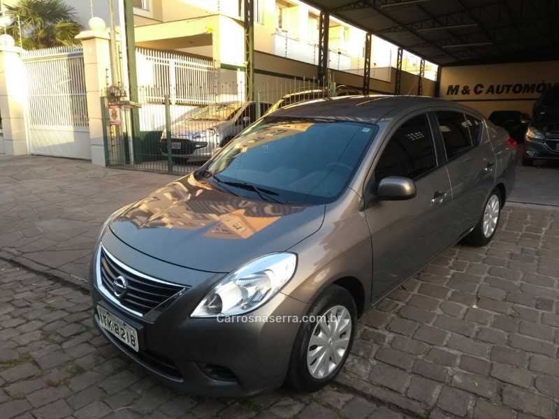 versa 1.6 16v flex sv 4p manual 2013 caxias do sul