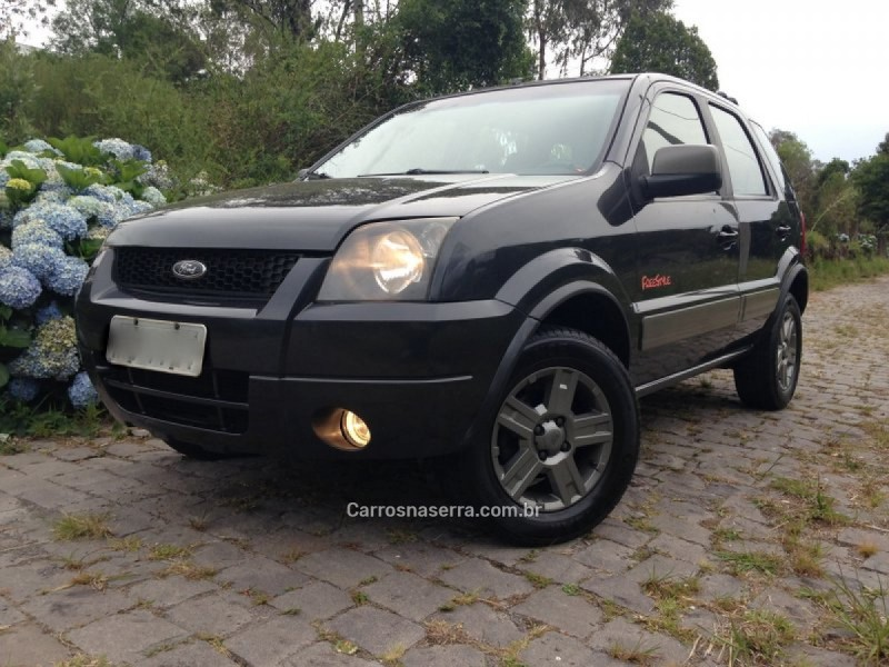ecosport 1.6 xlt freestyle 8v flex 4p manual 2007 caxias do sul