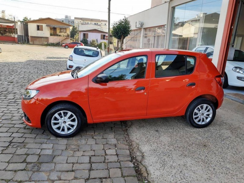 sandero 1.0 authentique 12v flex 4p manual 2017 guapore