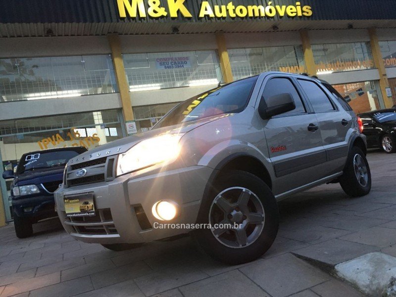 ecosport 1.6 xlt freestyle 8v flex 4p manual 2009 caxias do sul