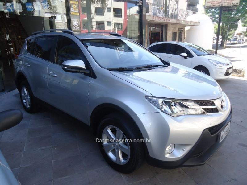 rav4 2.0 4x2 16v gasolina 4p automatico 2013 caxias do sul