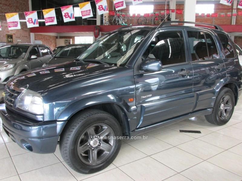 tracker 2.0 4x4 16v gasolina 4p manual 2009 farroupilha