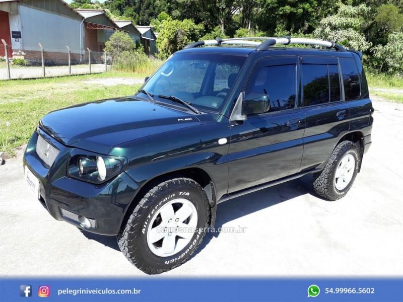 pajero tr4 2.0 4x4 16v flex 4p manual 2008 bento goncalves