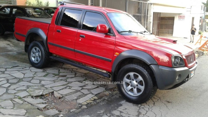l200 outdoor 2.5 hpe 4x4 cd 8v turbo intercooler diesel 4p manual 2010 caxias do sul