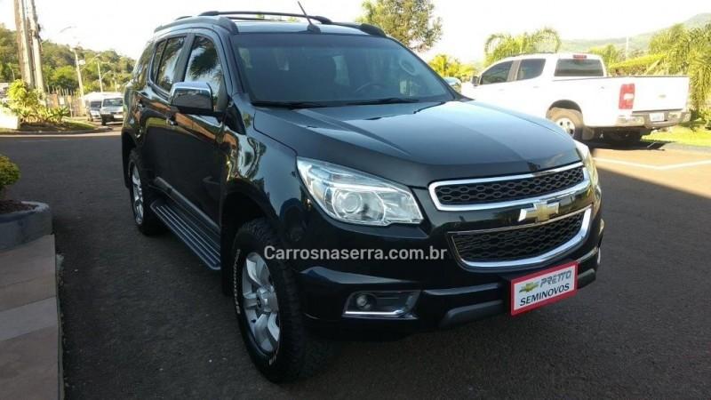 TRAILBLAZER 2.8 LTZ 4X4 16V TURBO DIESEL 4P AUTOMÁTICO - 2016 - ENCANTADO
