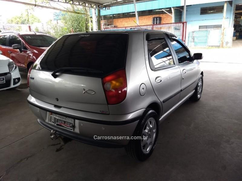 PALIO 1.0 MPI ELX 500 ANOS 8V GASOLINA 4P MANUAL - 2000 - CAXIAS DO SUL