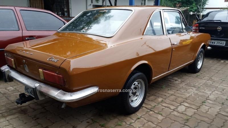 CORCEL 1.4 8V GASOLINA 2P MANUAL - 1974 - BOM PRINCíPIO